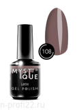 Gel Polish #108 «Latte» MYSTIQUE™, 15 ml