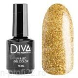 Diva, Gel color - Гель-лак №121 (15 мл.)