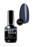 Gel Polish #107 «Cobalt» MYSTIQUE™, 15 ml