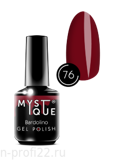 Gel Polish #76 «Bardolino» MYSTIQUE™, 15 ml