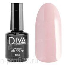 Diva, Gel color - Гель-лак №087 (15 мл)