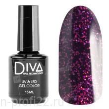 Diva, Gel color - Гель-лак №126 (15 мл.)