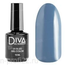 Diva, Gel color - Гель-лак №025 (15 мл.)