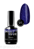Gel Polish #91 «Galaxy» MYSTIQUE™, 15 ml