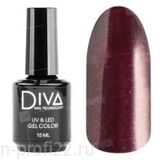 Diva, Gel color - Гель-лак №123 (15 мл.)