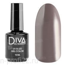 Diva, Gel color - Гель-лак №014 (15 мл.)