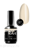 Gel Polish #87 «Ivory» MYSTIQUE™, 15 ml