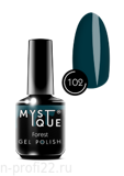 Gel Polish #102 «Forest» MYSTIQUE™, 15 ml