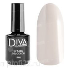 Diva, Gel color - Гель-лак №050 (15 мл.)