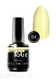 Gel Polish #84 «Sunny» MYSTIQUE™, 15 ml