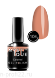 Gel Polish #104 «Caramel» MYSTIQUE™, 15 ml