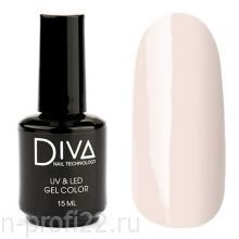 Diva, Gel color - Гель-лак №090 (15 мл.)