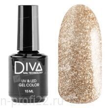 Diva, Gel color - Гель-лак №129 (15 мл.)