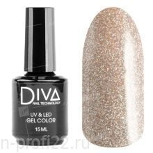 Diva, Gel color - Гель-лак №132 (15 мл.)