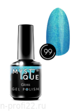 Gel Polish #99 «Gloss» MYSTIQUE™, 15 ml