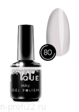 Gel Polish #80 «Milky» MYSTIQUE™, 15 ml
