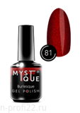 Gel Polish #81 «Burlesque» MYSTIQUE™, 15 ml