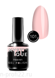 Gel Polish #101 «Heaven» MYSTIQUE™, 15 ml